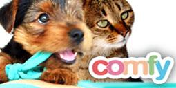 COMFY TOYS FOR DOGS AND CATS